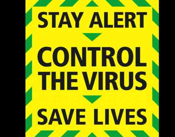 Stay Alert COVID 19 Graphic